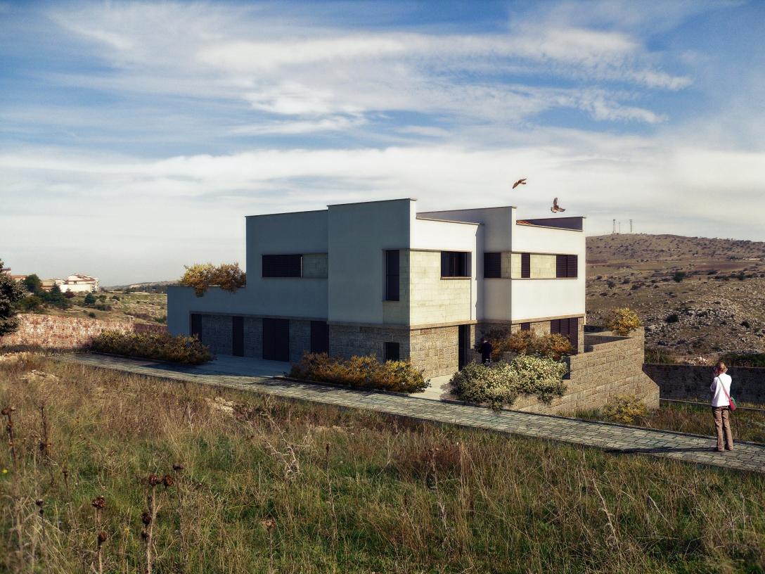 villa trifamigliare1-architetto locuratolo-minervino murge-BAT-Puglia