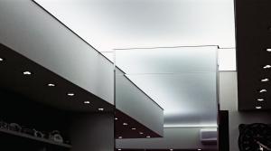 banana moon - soffitto teso - parete specchio - architetto locuratolo - minervino murge - BAT - puglia